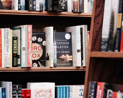 Station 11 bookshelf