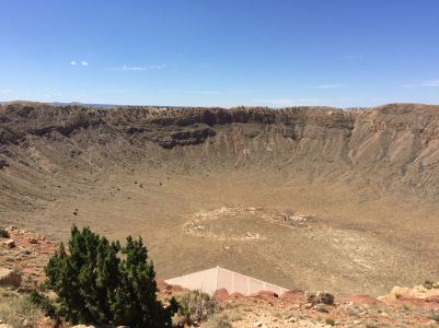 The Meteor Crater--astronauts trained down there